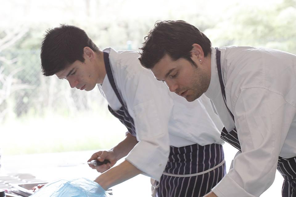 Presentación en forma de cocina a cargo del prestigioso Chef Alain Guiard