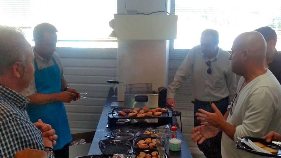 Un taller de cocina Ànec de l'Empordà