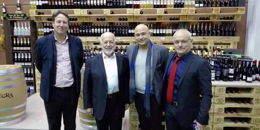 Visita del Grupo García Carrión para confirmar nuestro acuerdo comercial