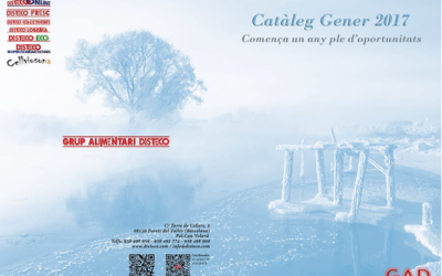 Disteco presenta su nuevo catálogo Enero 2017