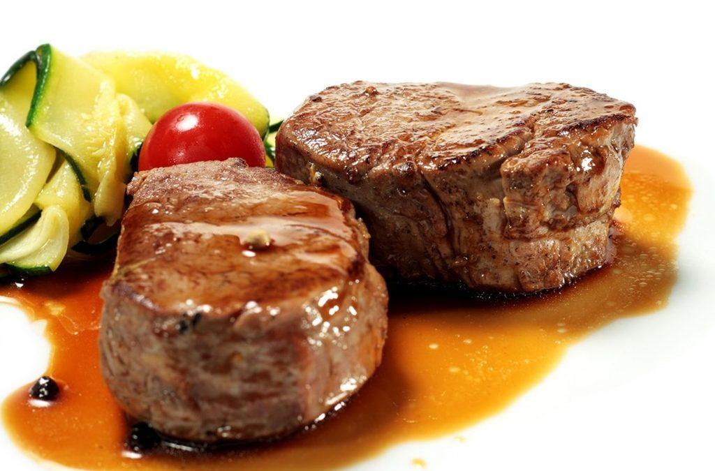Cenas a base de proteínas y verduras