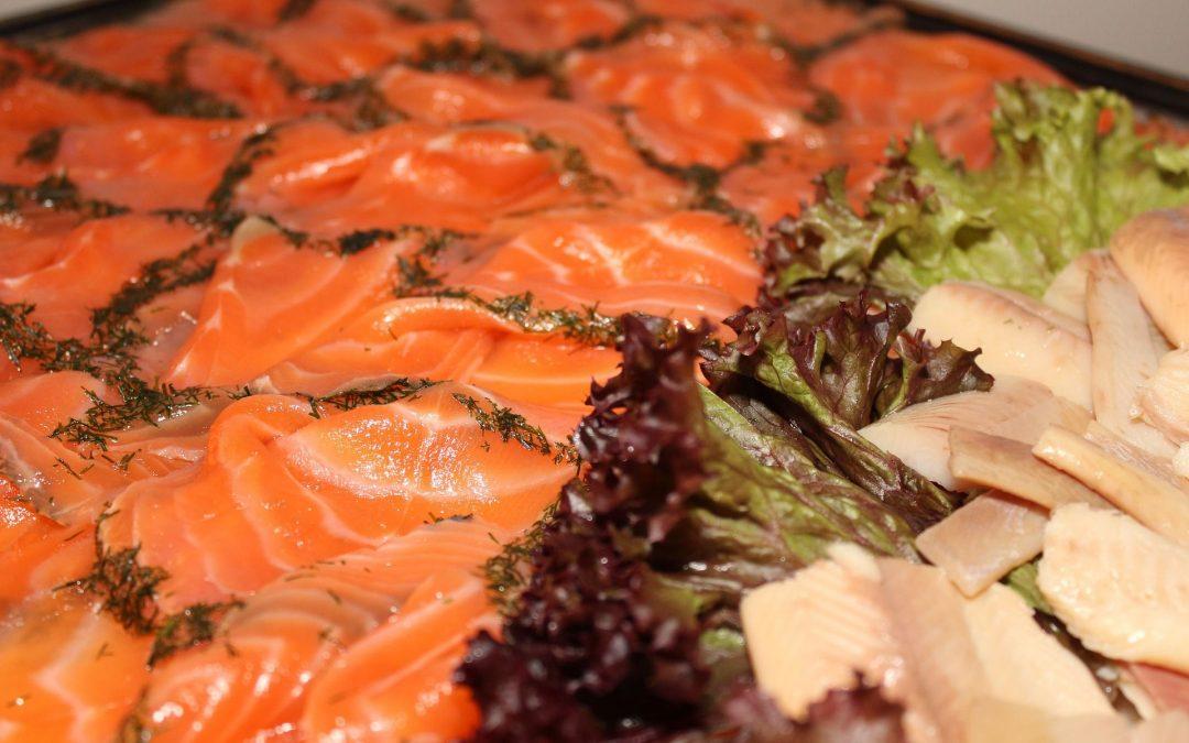 Comer salmón te hará más feliz