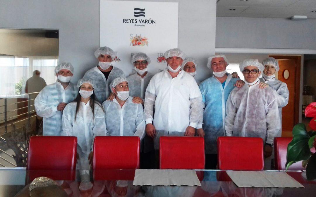 DISTECO visita la fábrica de Reyes Varón