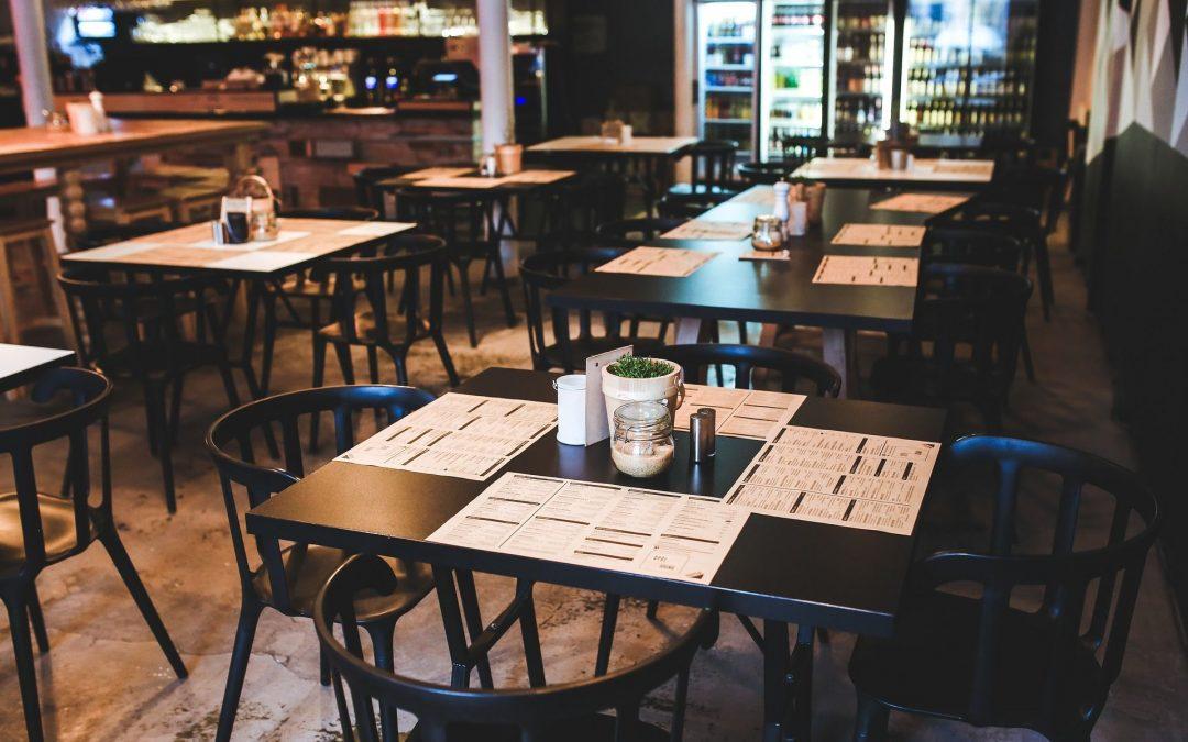 Escoger los menús diarios para bares