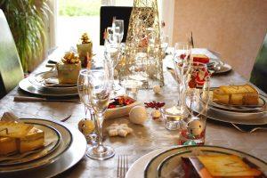 Piezas de carne para Navidad y Año Nuevo
