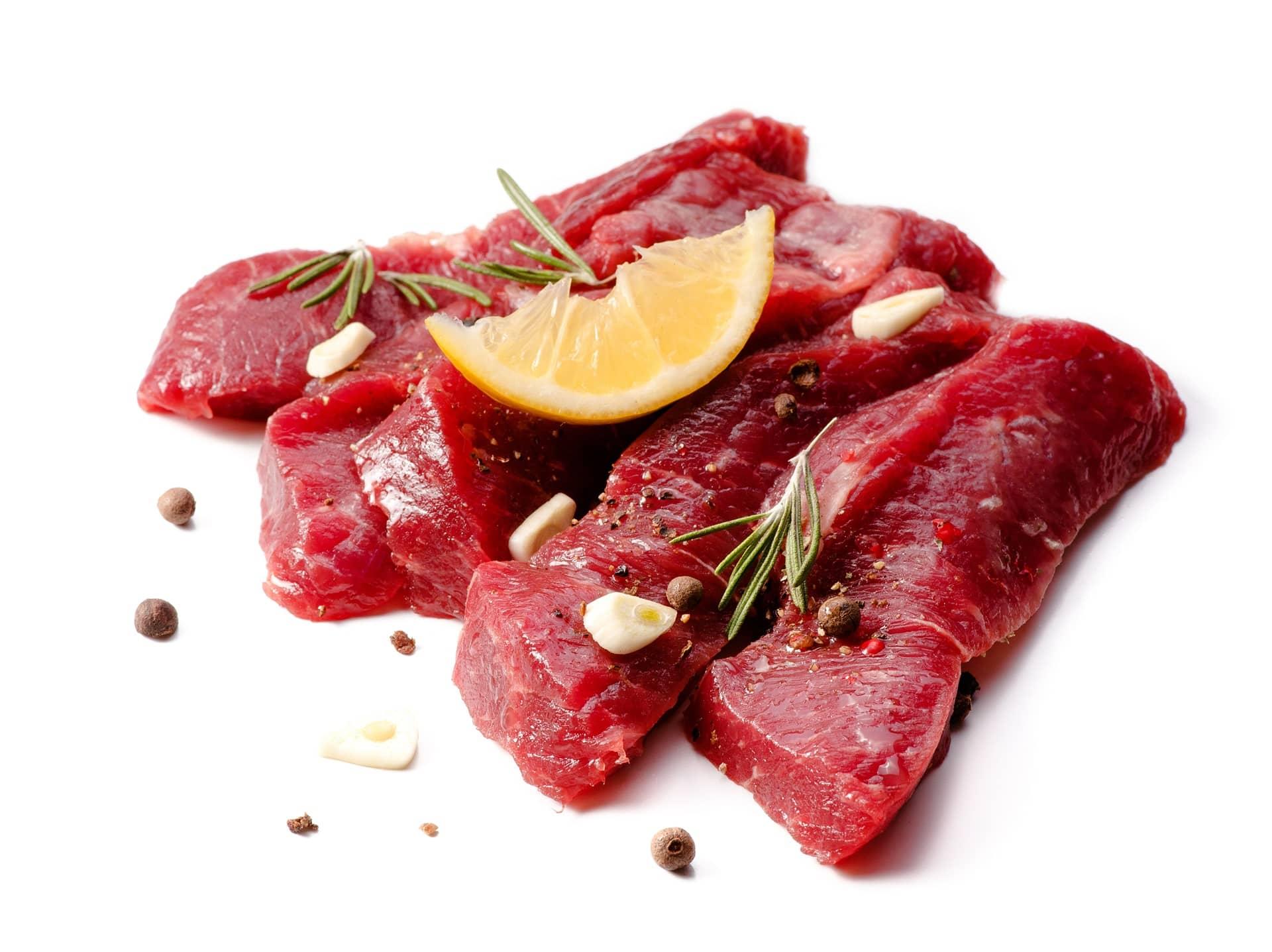 Escoger al distribuidor de carne fresca